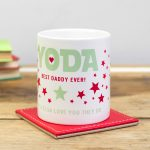 Personalised Yoda Best Daddy Ever Mug