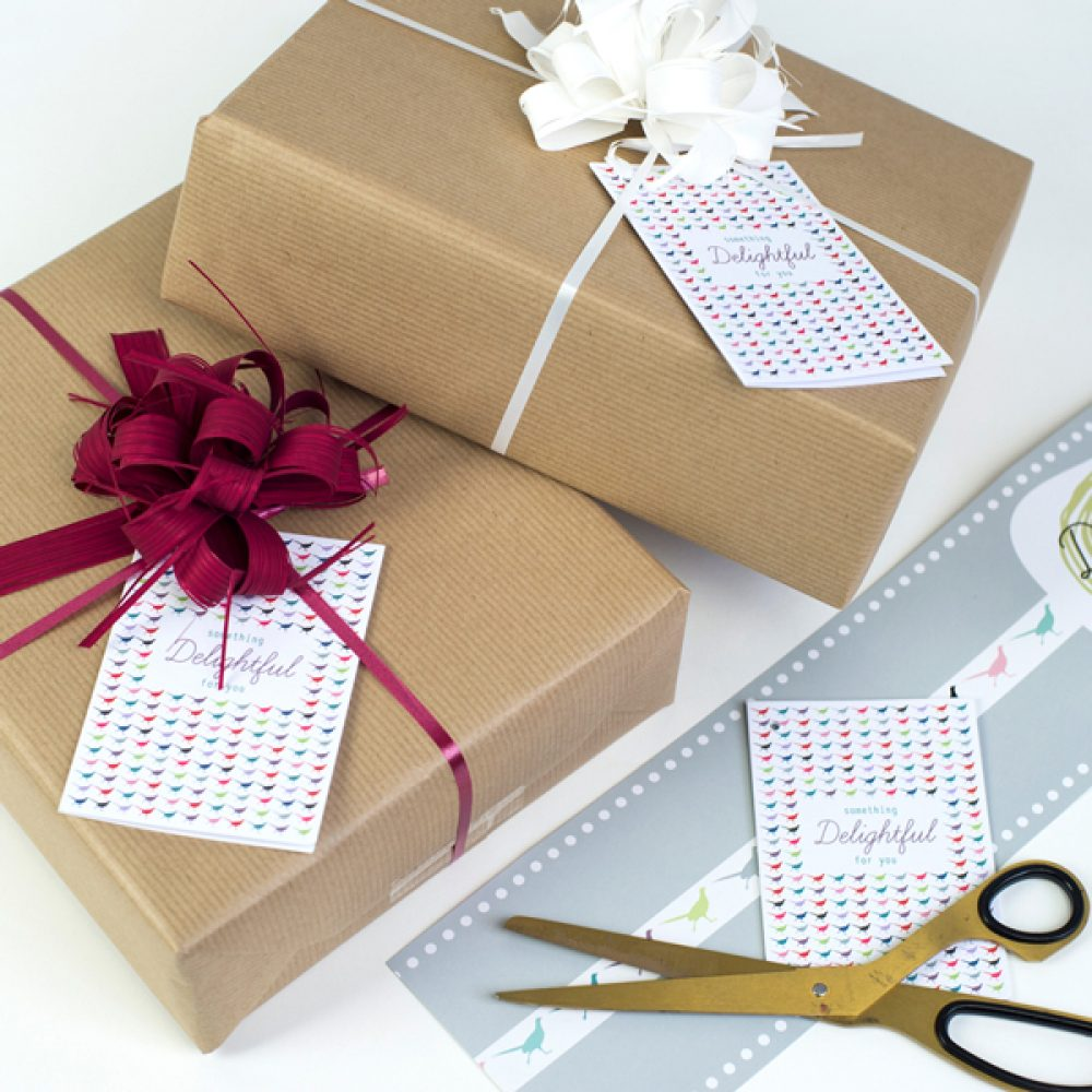 Delightful Living gift Wrap