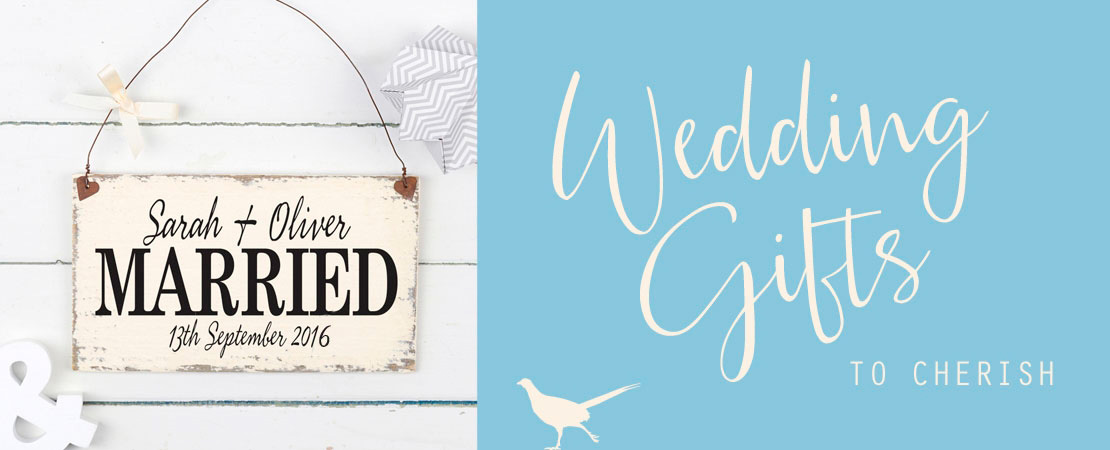Personalised Gifts for Weddings