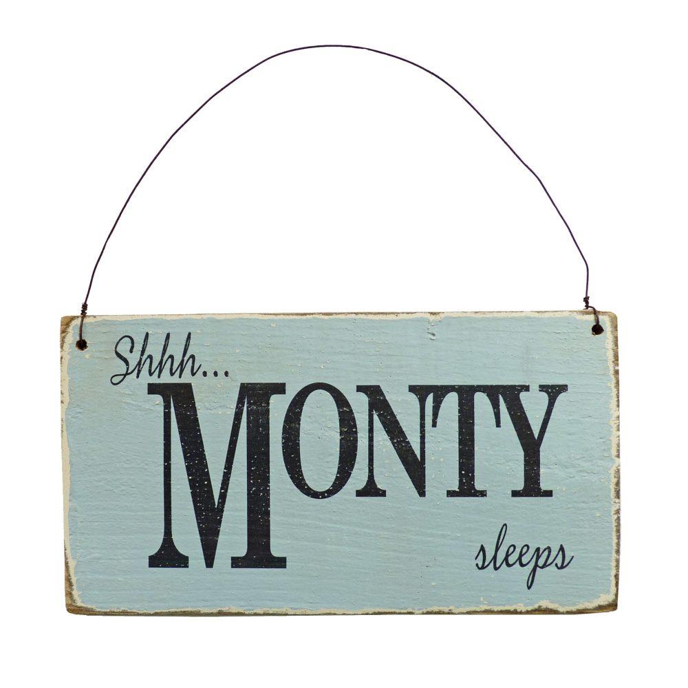 Personalised Vintage Style Nursery Sign