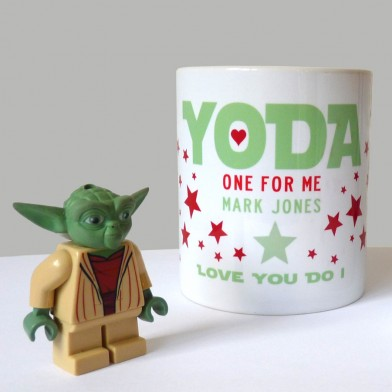 Personalised Star Wars Yoda Mug