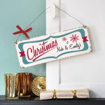 Personalised Vintage Style Christmas Sign