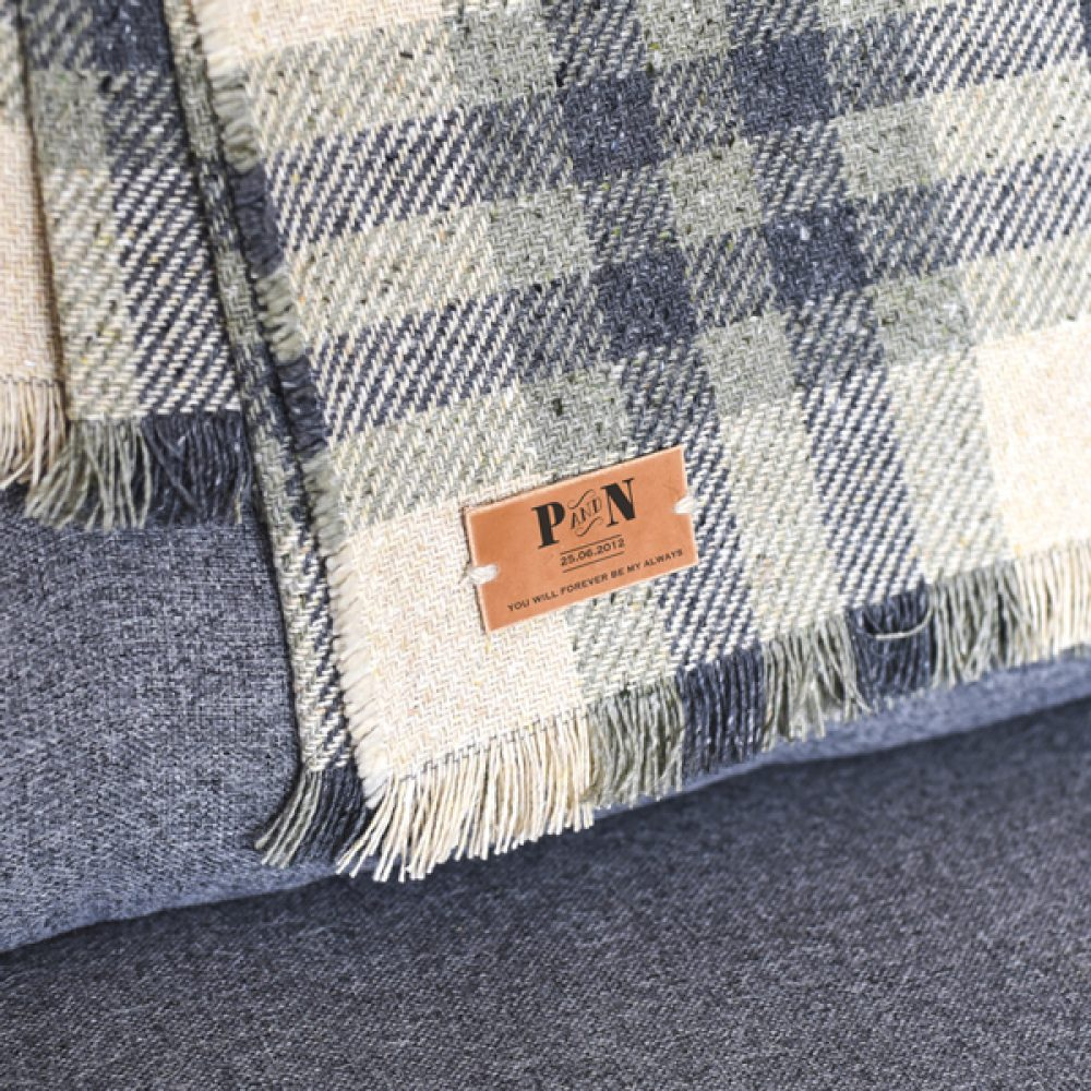 Initialled Throw