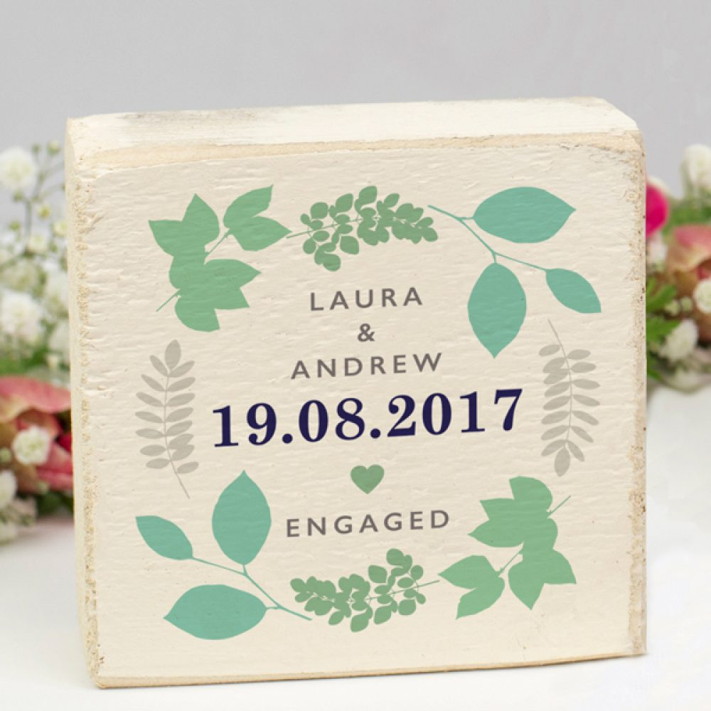Engagement Gift Keepsake