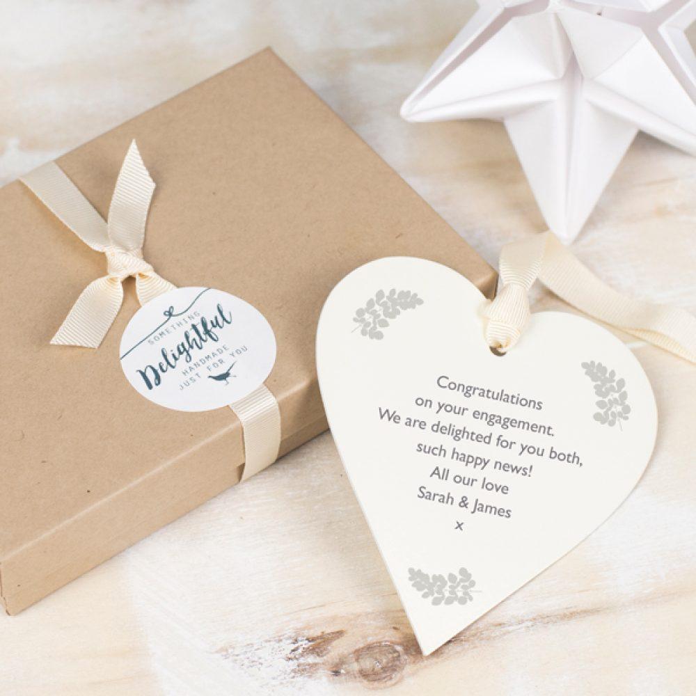 Engagement Keepsake Gift