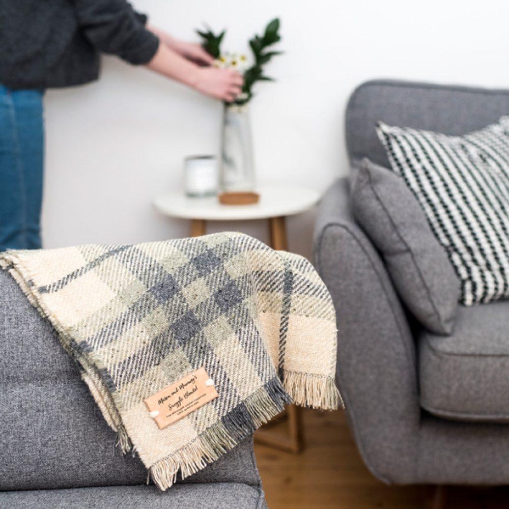 Personalised Blanket Or Throw