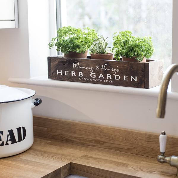 Herb Garden Window Box