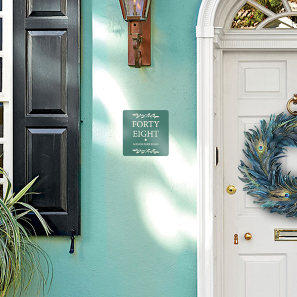 Personalised House Number