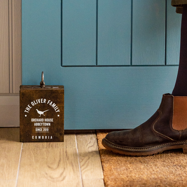 Personalised Doorstop
