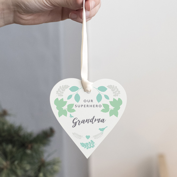 Personalised Family Keepsake Heart