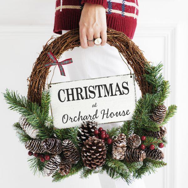 Classic Christmas Sign