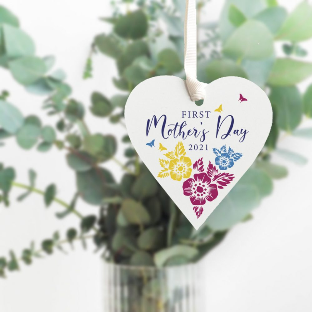Personalised First Mothers Day Heart