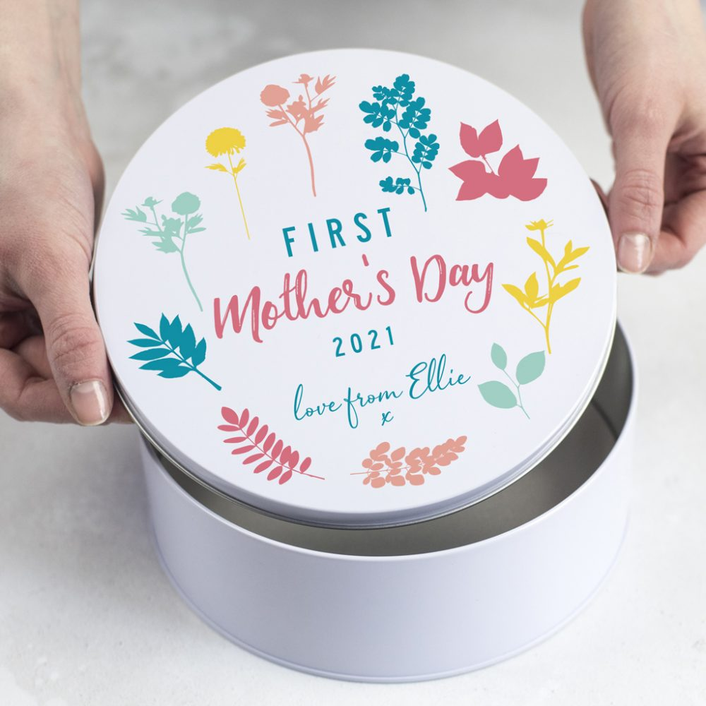 Personalised First Mothers Day Tin