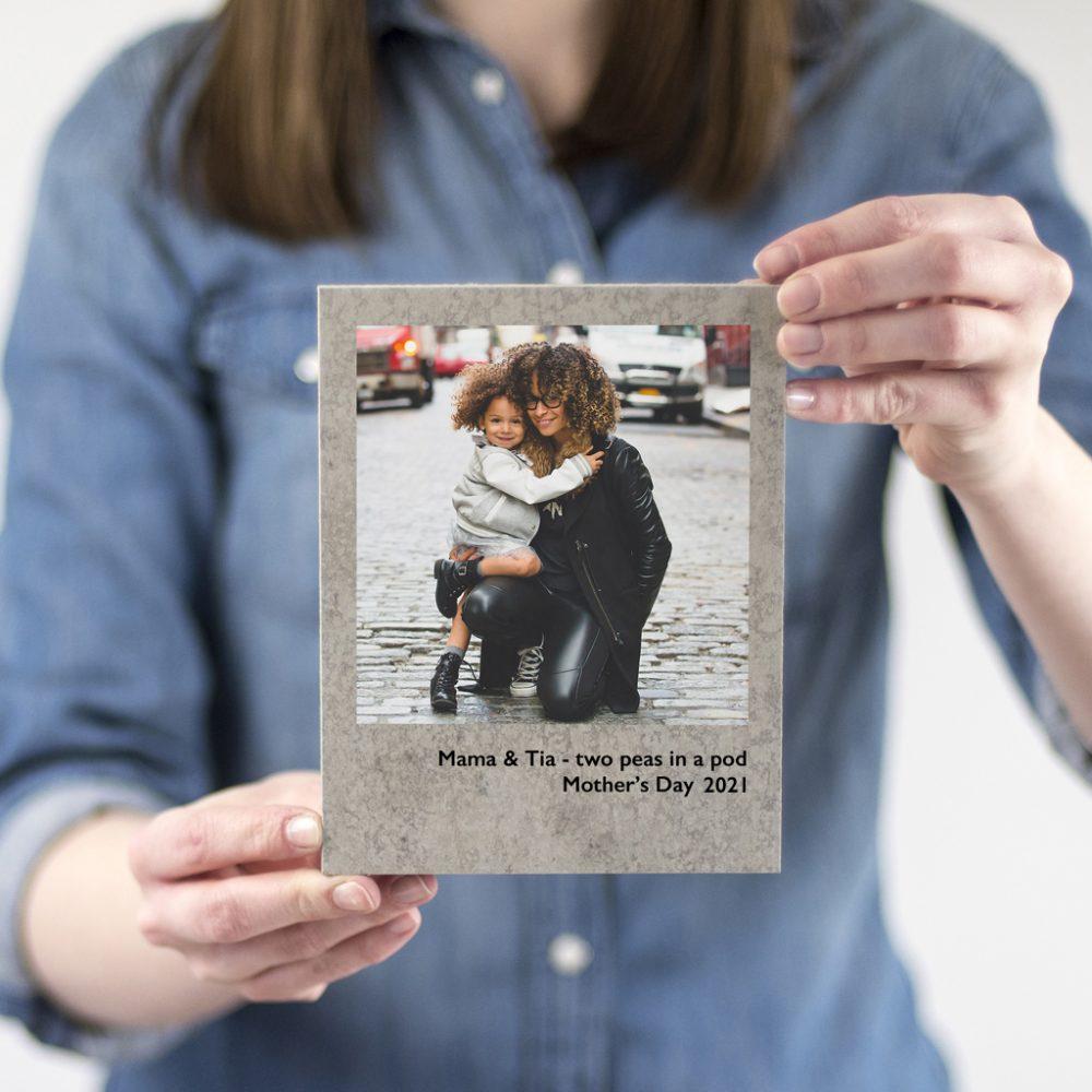 Mothers Day Concrete Polaroid Print